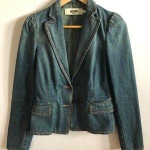 Moschino Jeans Denim Jacket size 8